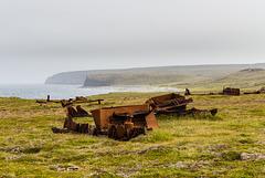 "Wreck of trawler ""Daniel Quare"" (3xPiP)"