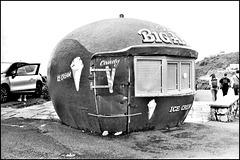 Ice-cream kiosk, Mumbles.