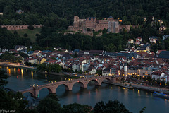 Heidelberg in Fading Daylight (150°)