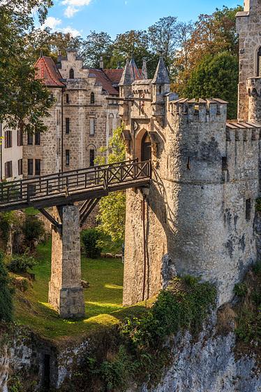 Drawbridge - Lichtenstein Castle (270°)