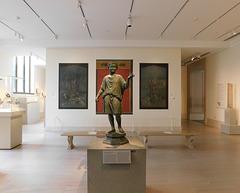 Roman Gallery in the Metropolitan Museum of Art, Sept. 2021