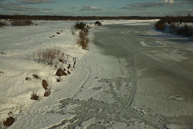 Kostroma region. River Neya