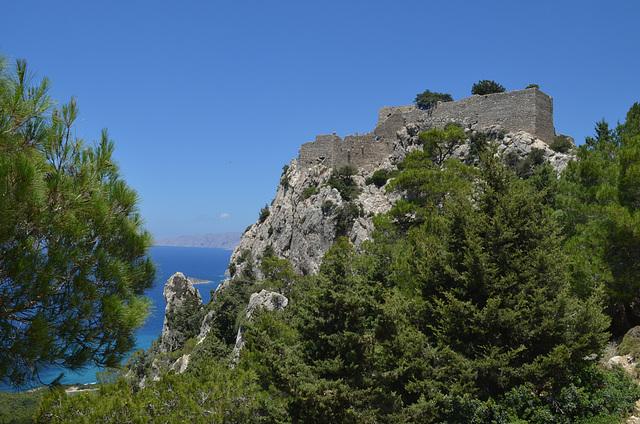Rhodes, The Monolithos Castle
