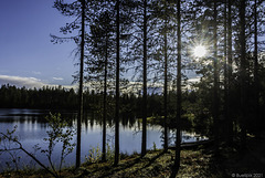 abends am Saarijärvi (© Buelipix)