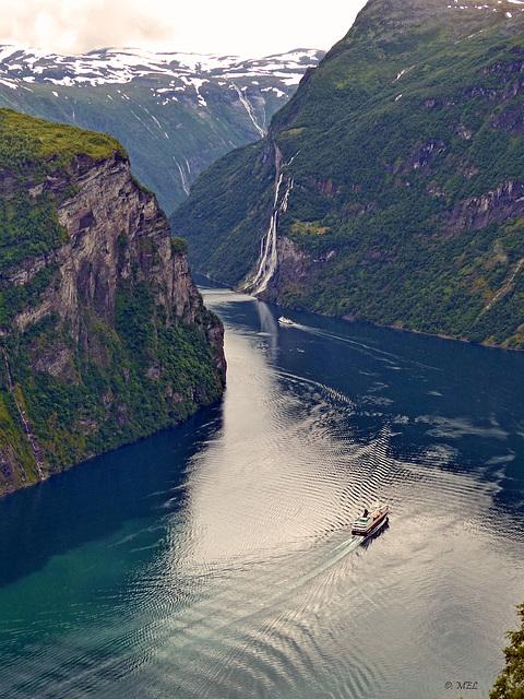 Geiranger-Fjord und die 7 Schwestern