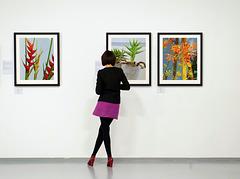 Fiktive Bilderausstellung - Fictional picture exhibition - mit PiPs