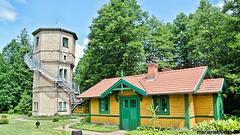 Railway museum Bialowieza