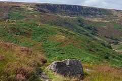 The Pennine Way path to Laddow Rocks