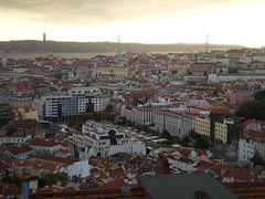 Lisbon and Tagus River, from Graça Belvedere