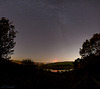 The Milky Way and Digley Reservoir
