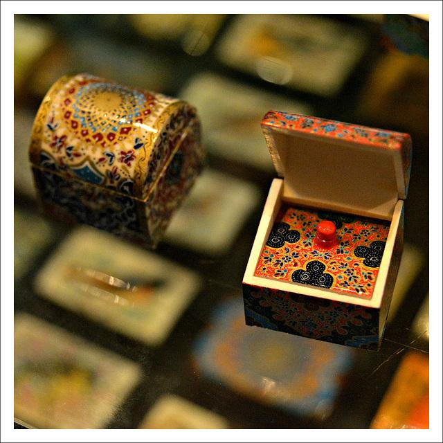 Little treasure boxes.