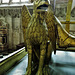 st mary's church, warwick,griffon on tomb effigy of richard beauchamp, earl of warwick, +1439