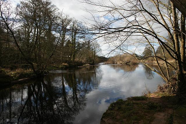 River Irthing At Lanercost
