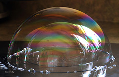 La triple bulle de savon