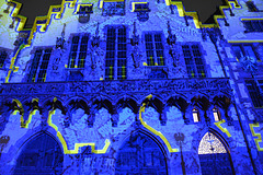 Lichtershow am Römer/ Frankfurt am Main