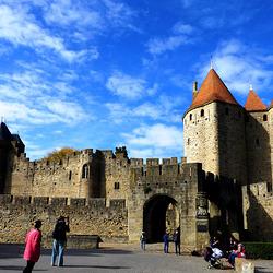 FR - Carcassonne - City wall