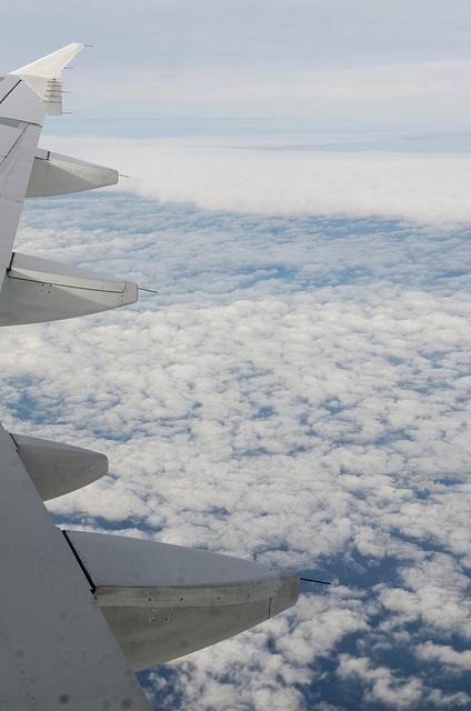 10 000 m au dessus de la mer Baltique