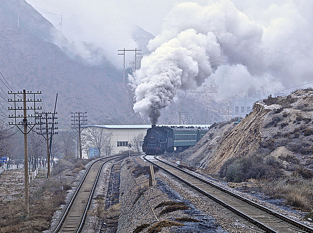 Baiyin Gansu China 25th November 2014