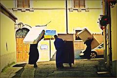 Erdbeben Norcia [7] - Drei Mönche ziehen um
