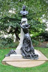 sir arthur sullivan monument, embankment, london (1)