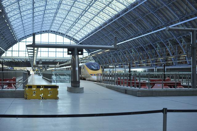 HFF from St Pancras & Eurostar