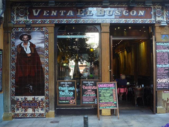 El Buscón, Madrid