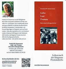 Flyer zum neuen Buch