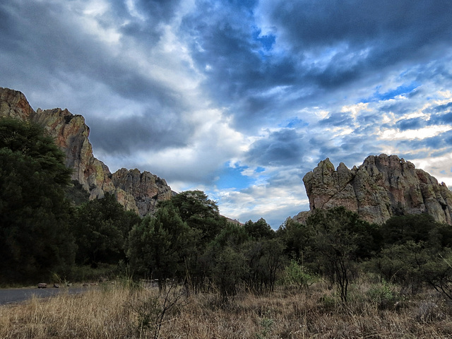 The South Fork of Cave Creek, Chiricahua Mountains