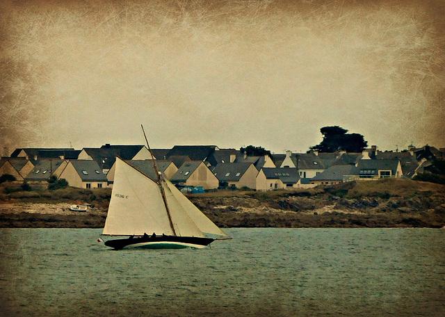 le bateau d'ERIC TABARLY