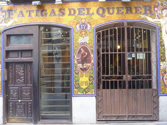 Fatigas del querer, Madrid