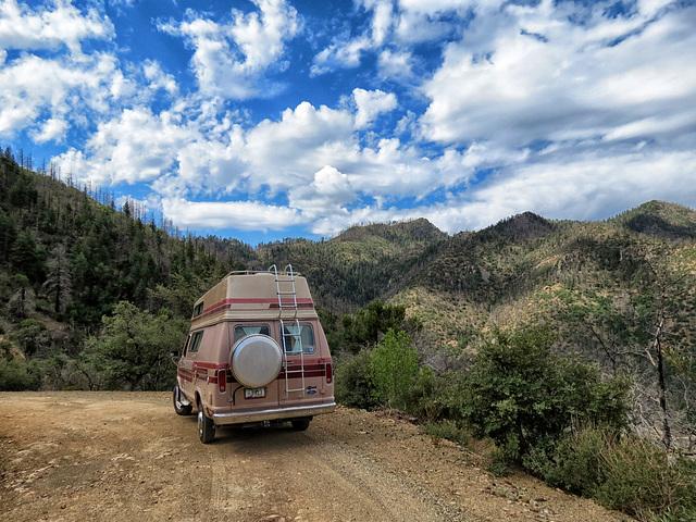 The Chiricahua Mountains