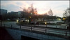 sunset at Milton Keynes