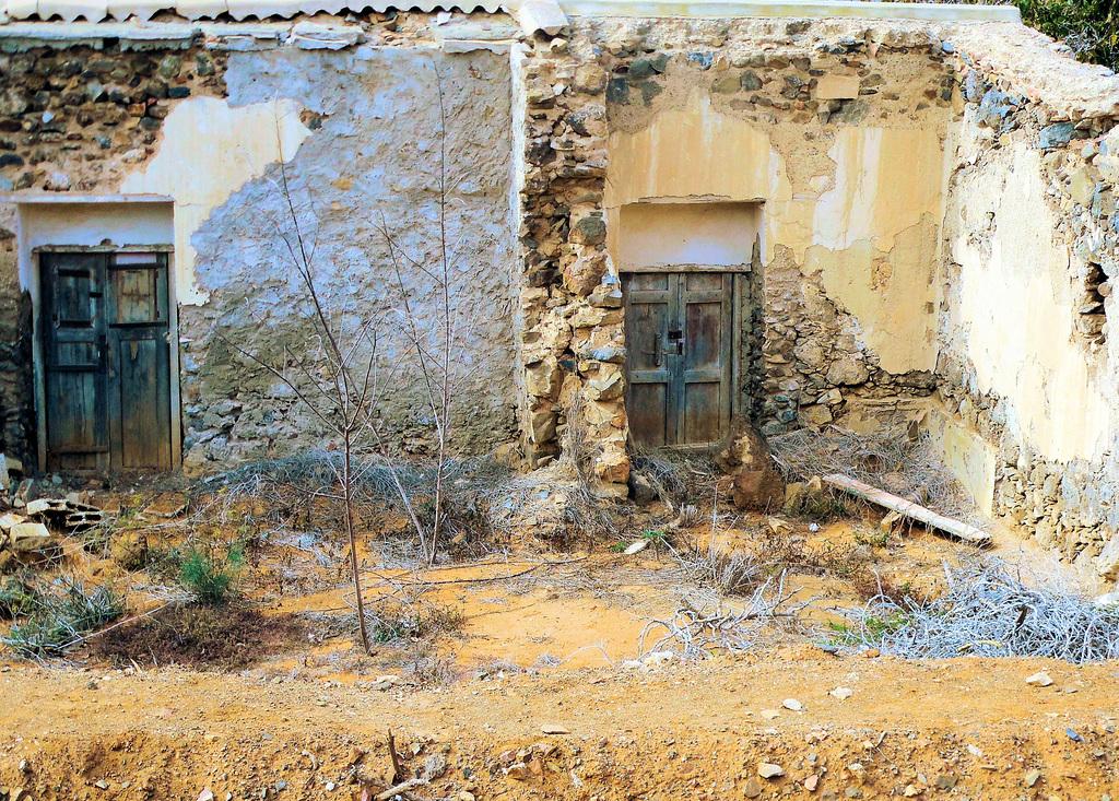 Mauerreste in Betancuria/ Fuerteventura
