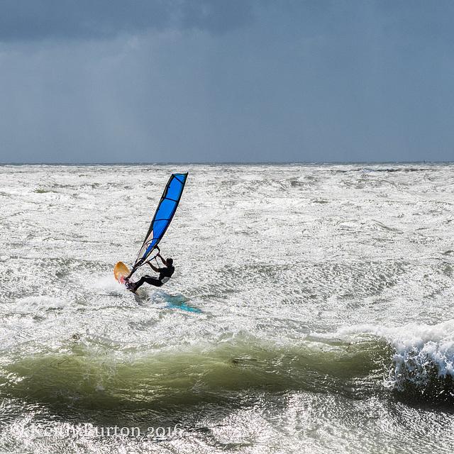 Windsurfing at Hayling Island
