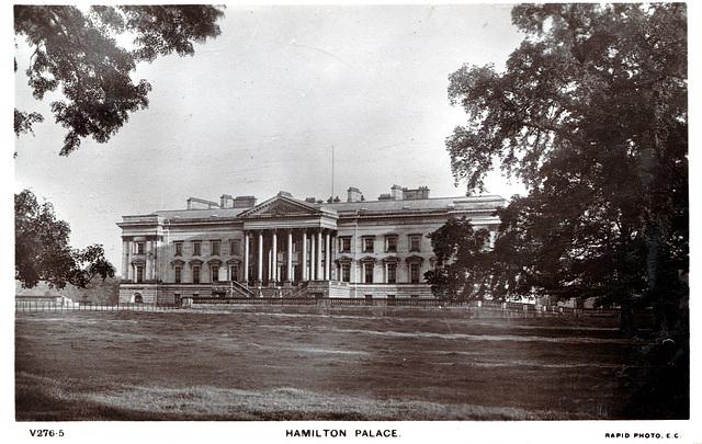 Hamilton Palace, Lanarkshire (Demolished late 1920s)