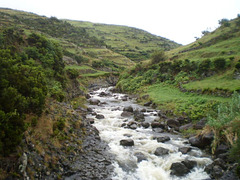Rapids of Moinho Creek.