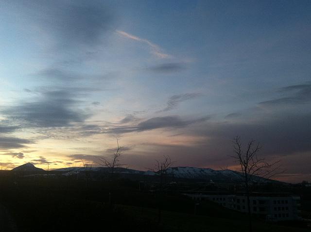 Amanecer de invierno, 2