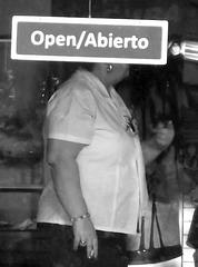 Open-minded smoker cuban Lady