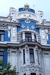 LV - Riga - Art Nouveau House at Elizabetas Iela