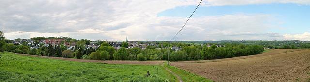 Panoramablick vom Bahrenberg über Hattingen-Niederwenigern
