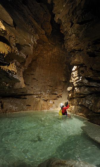 Grotte de Choranche - Rivière Chevaline