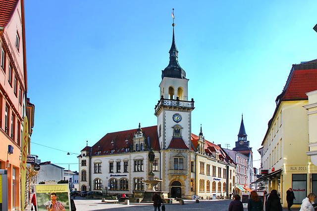 Güstrow, Pferdemarkt