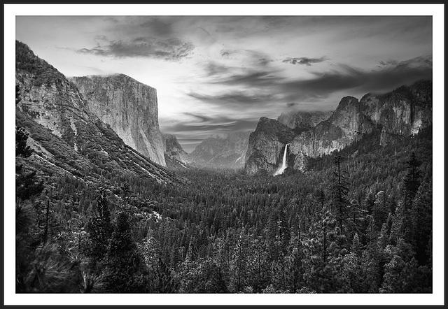 Yosemite - Tunnel View - 1986