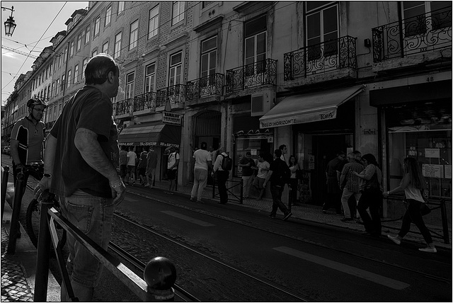 Ruas de Lisboa.