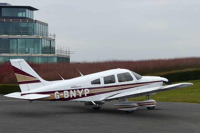 G-BNYP at Turweston - 22 March 2016