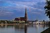 Schwerin, Pfaffenteich und Dom