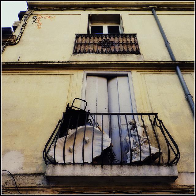 Vie de balcon .