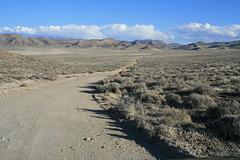 Road to Shoshone Pass