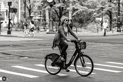 Cycling through the city