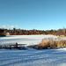 Kreidebergsee im Winter